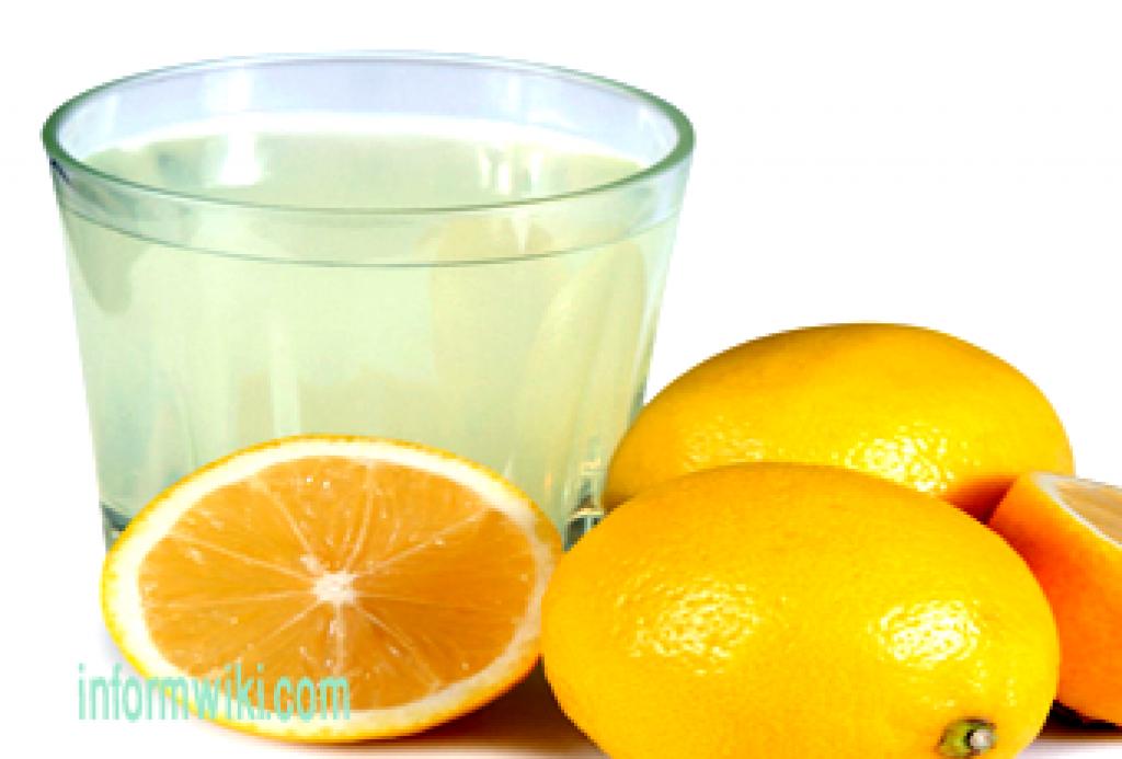 Juicing recipes-lemon juice